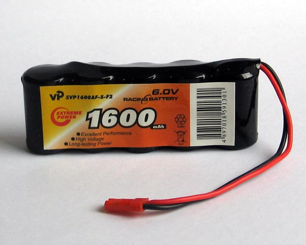 RECEIVER BATTERY PACK 6.0V 2/3A 1600mAh S TYPE