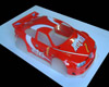 Bodyshell for 1/8 Rally Game - Alfa 156