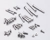 Alminum screw Set for EX-1 KIY Silver