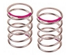Shock spring (pink 320gf/mm) (2pcs.)