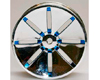 HW Wheel 04 Chrome/Metalic Blue (4)