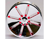 HW Wheel 04 Chrome/Metalic Red (4)