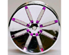HW Wheel 04 Chrome/Metalic Purple (4)
