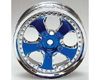 HW Wheel 06 Chrome/Metallic Blue (4)