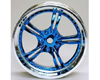 HW Wheel 07 Chrome/Metalic Blue (4)