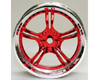 HW Wheel 07 Chrome/Metalic Red (4)