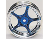 HW Wheel 10 Chrome/Metalic Blue (4)