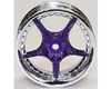 HW Wheel 10 Chrome/Metalic Purple (4)
