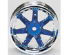 HW Wheel 11 Chrome/Metalic Blue (4)