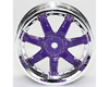 HW Wheel 11 Chrome/Metalic Purple (4)